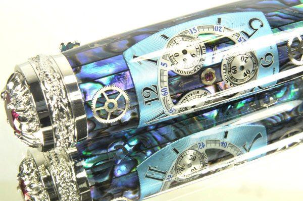 Opus Mechan Chrono Collection MOP Franck Muller Dragon Watch Parts Pen