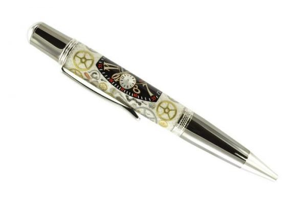 Opus Mechan Chrono Collection Franck Muller Conquistador Watch Parts Ballpoint Pen