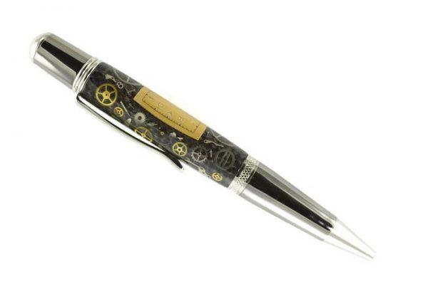 Opus Mechan Chrono Collection Lord Elgin Watch Parts Ballpoint Pen