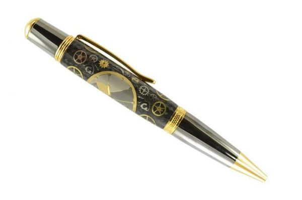 Opus Mechan Chrono Collection Omega Watch Parts Ballpoint Pen