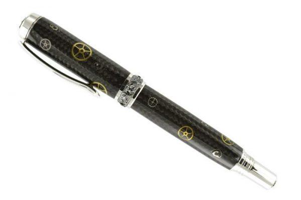 Opus Mechan Carbon Fiber Watch Part Mid-Size Pen