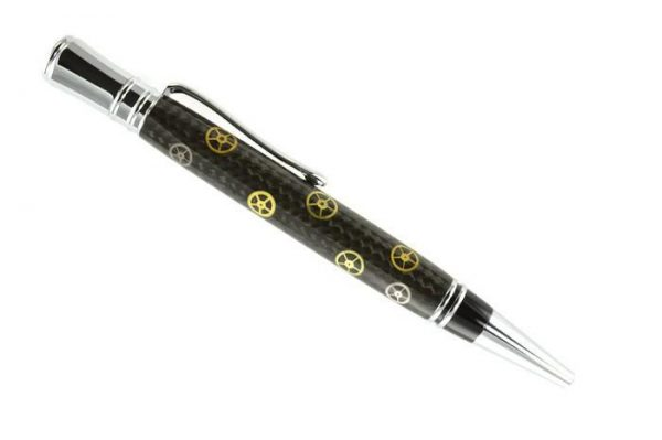 Opus Mechan Executive Collection Watch Parts Ballpoint Pen