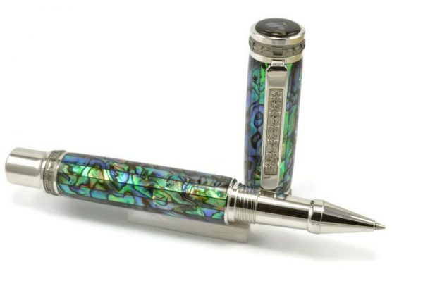 Opus Mechan La Perla Collection Full Size Rollerball Pen