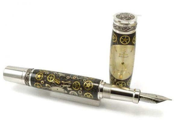 Opus Mechan Chrono Collection Bulova Full-Size Watch Parts Pen