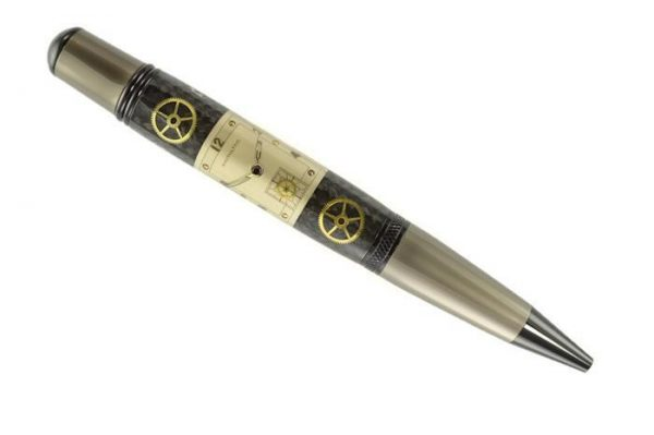 Opus Mechan Chrono Collection Hamilton Watch Parts Ballpoint Pen