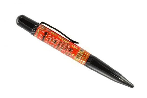 Opus Mechan Technica Collection Red Circuit Board Ballpoint Pen