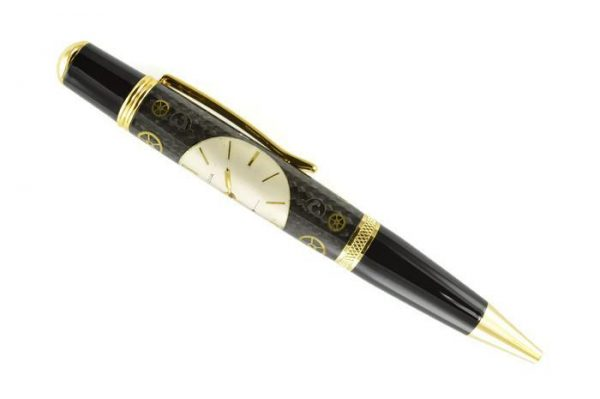 Opus Mechan Chrono Collection Bulova Watch Parts Ballpoint Pen