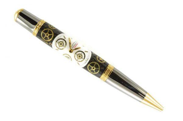 Opus Mechan Chrono Collection Eberhard & Co Watch Parts Ballpoint Pen