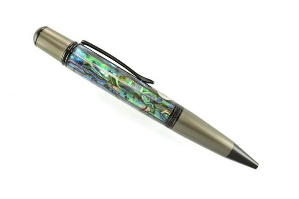 Opus Mechan La Perla Collection 2 Tone Chrome Ballpoint Pen