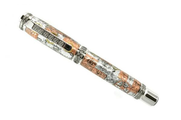 Opus Mechan Steampunk Collection Full-Size Watch Parts Pen