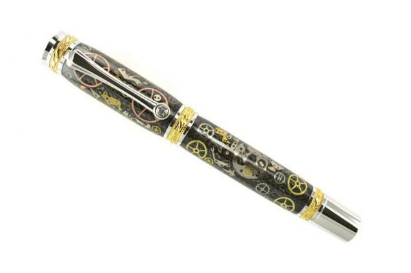 Opus Mechan Chrono Collection Franck Muller Full-Size Watch Parts Pen