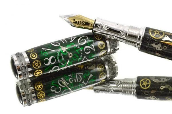 Opus Mechan Chrono Collection Franck Muller Full Size Watch Parts Pen