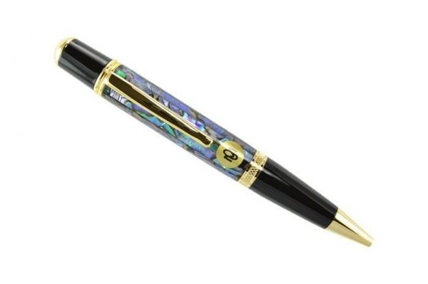 Opus Mechan La Perla Collection Gold Ballpoint Pen 2