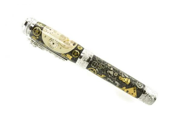 Opus Mechan Chrono Collection Breitling Dragon Watch Parts Pen