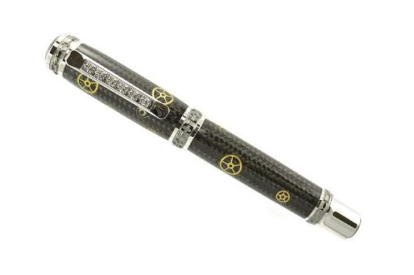 Opus Mechan Carbon Fiber Watch Part Full-Size Pen