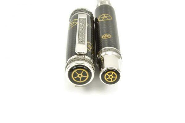 Opus Mechan Carbon Fiber Watch Part Full-Size Pen