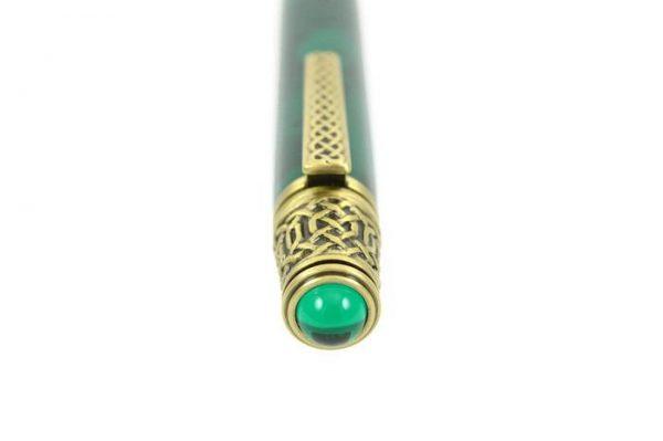 Opus Mechan Celtic Brass In Jade