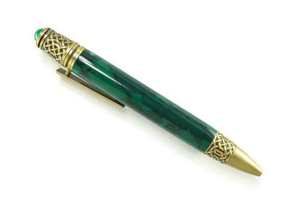 CLEARANCE! Opus Mechan Celtic Brass In Jade