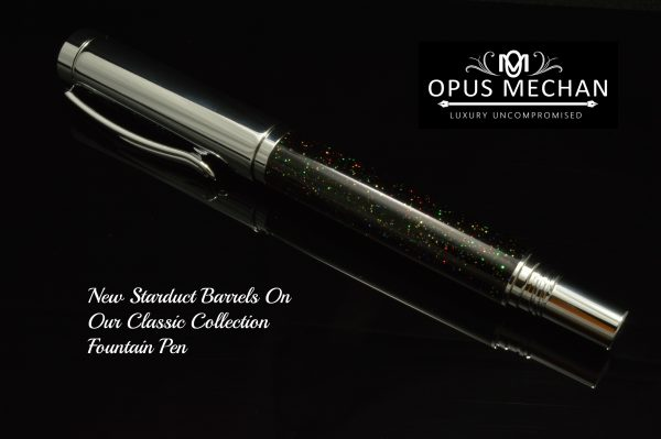 The Stardust Classic Fountain Pen!